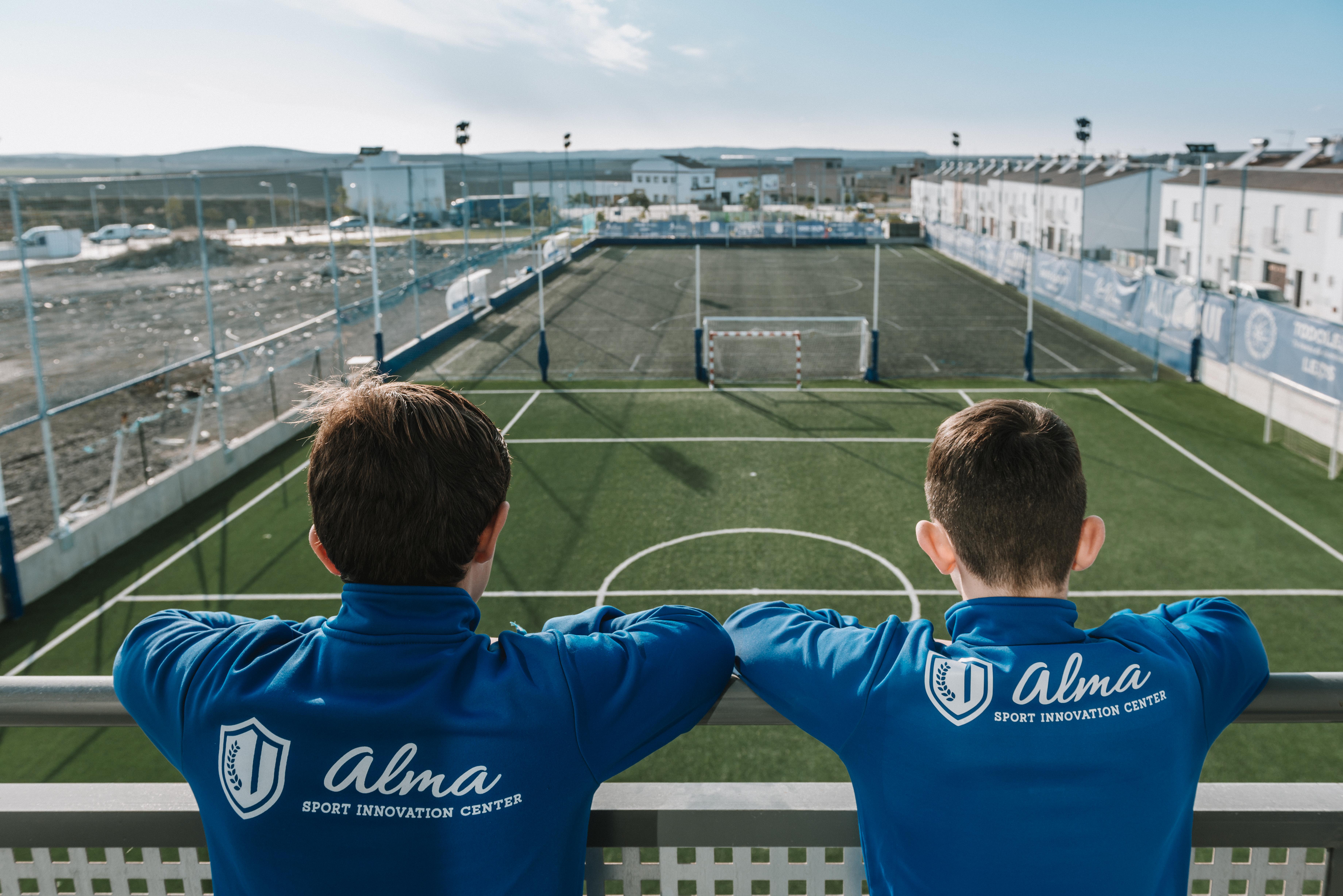 Centro Deportivo Alma. Vista del proyecto